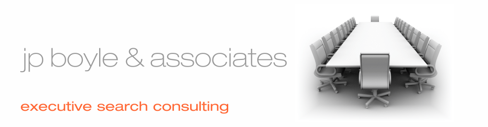 jp boyle & associates retained executive search consulting